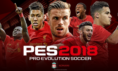Download PES 2018 Mod Apk + Data Full Free