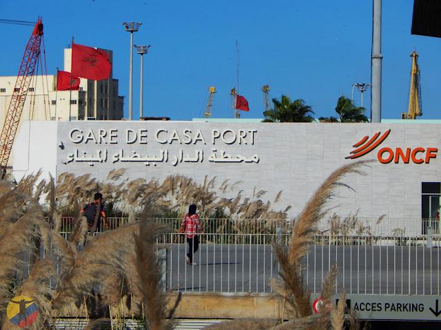 Estación Casa Port Casablanca