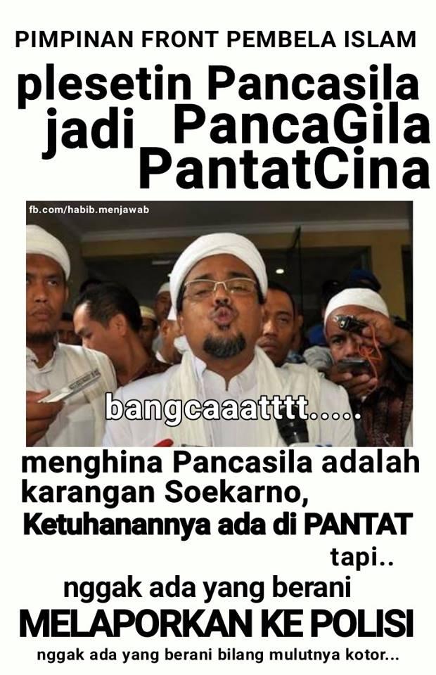 Menghina Pancasila Zaskia Gotik Diperkarakan, Bagaimana dengan Hizbut Tahrir, Felix Siauw dan Habib Rizieq?