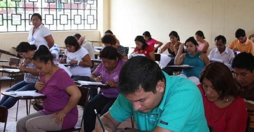 Resultados Examen Contrato Docente (Domingo 22 Enero) Nivel Nacional UGEL - DRE - MINEDU