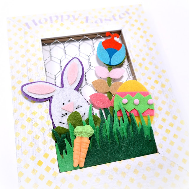 How-to-Embellish-a-Stenciled-Frame-with-Felt-Shapes-for-Easter