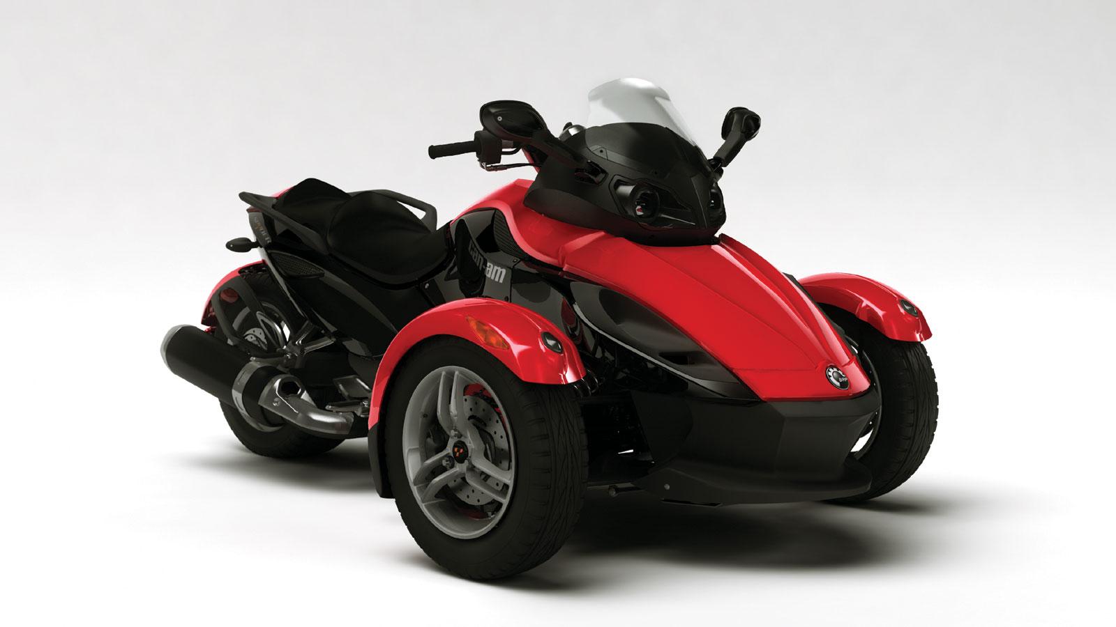 Roadster Can-Am Spyder, imagen 1 de 3, galería de Can-Am BRP Spyder ...