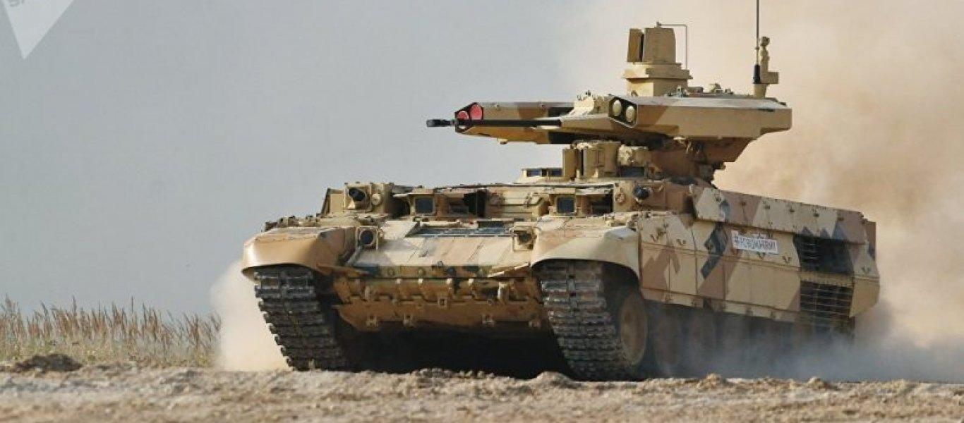 Terminator 2 (BMPT-72), ο ρωσικός «Εξολοθρευτής»: Θα προταθεί η απόκτησή του από τον Ελληνικό Στρατό! (Βίντεο)