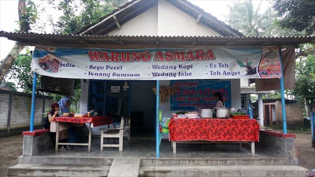 Warung Asmara di Kalipucung, Sanankulon, Blitar