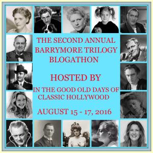 Barrymore Blogathon ahead!
