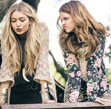 Gigi Hadid and Barbara Palvin Photoshoot