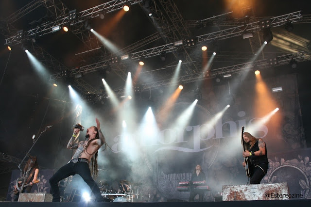 Amorphis en Tuska Open Air 2013
