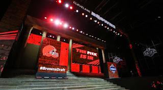 2018 NFL Mock Draft Cleveland Browns Sam Darnold Josh Allen