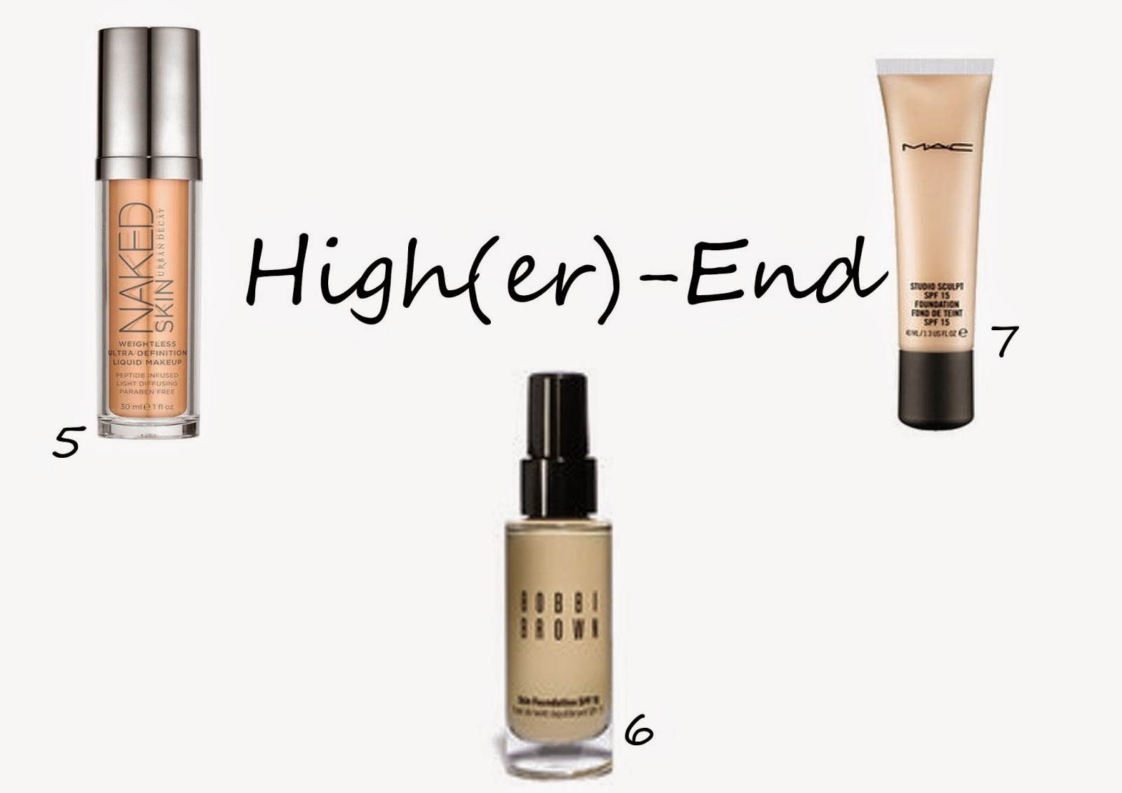 High-End Foundations für blasse Haut