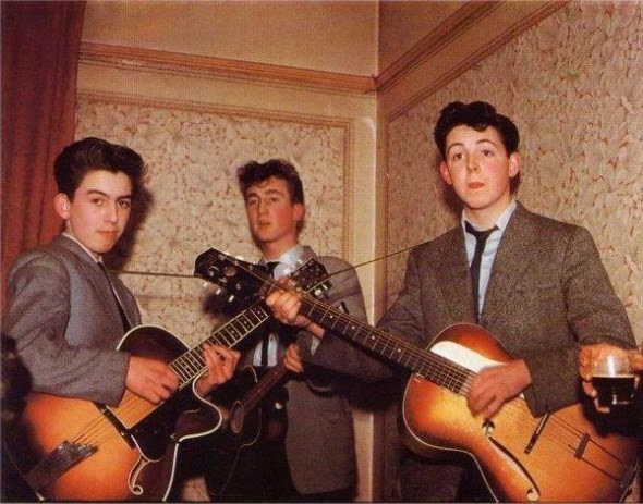 Ultimate Collection Of Rare Historical Photos. A Big Piece Of History (200 Pictures) - The Beatles, 1957