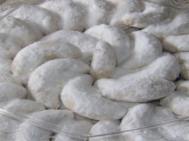 resep kue putri salju kacang mete