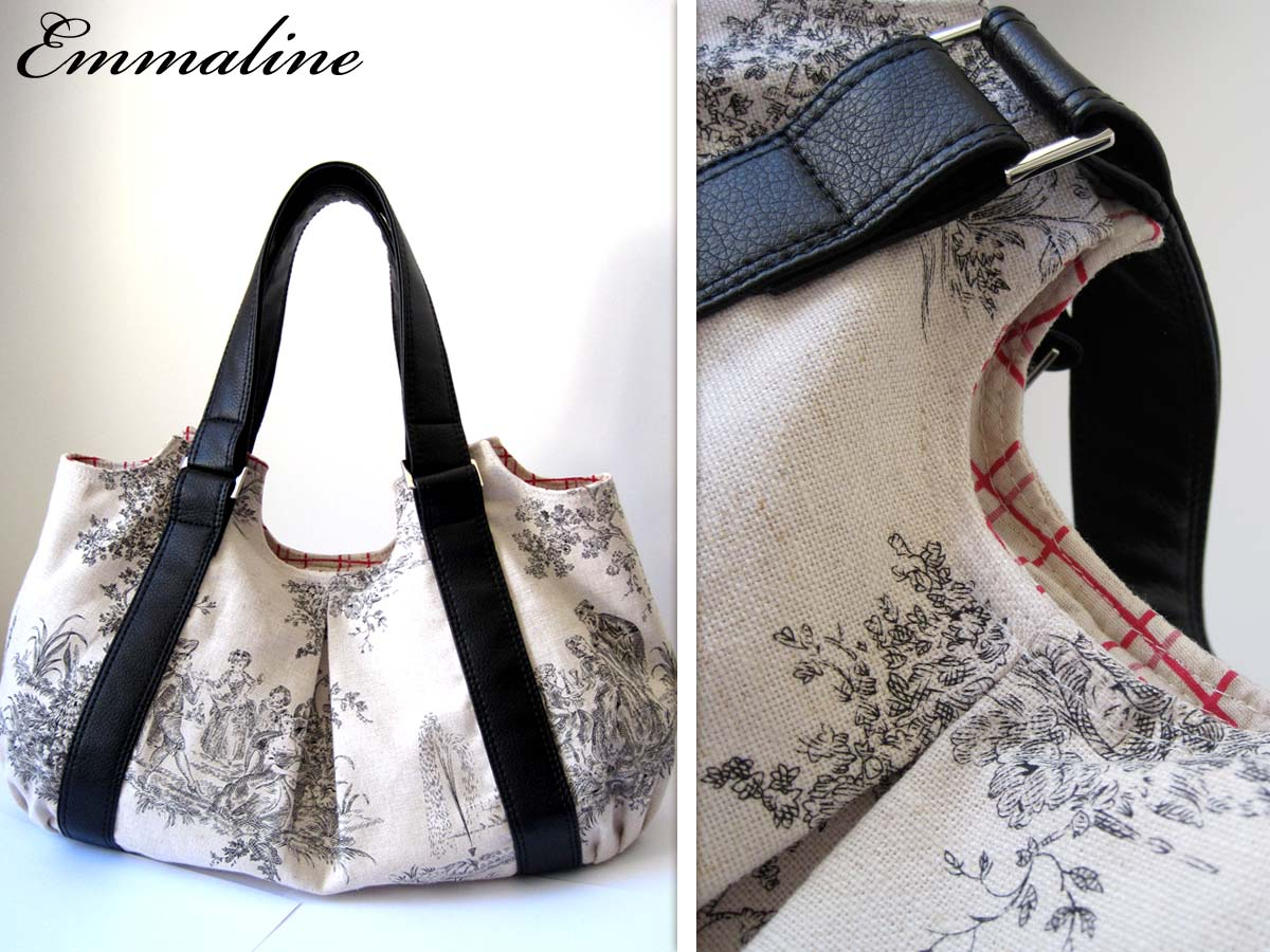 Emmaline Bags Sewing Patterns And Purse Supplies The