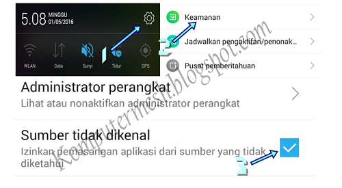 Cara Mengatasi There is a Problem Parsing the Package di Android
