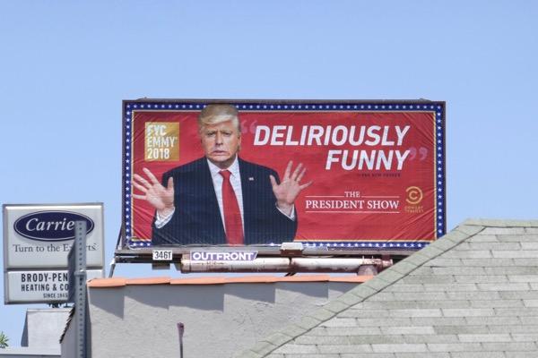 President Show season 1 Emmy FYC billboard