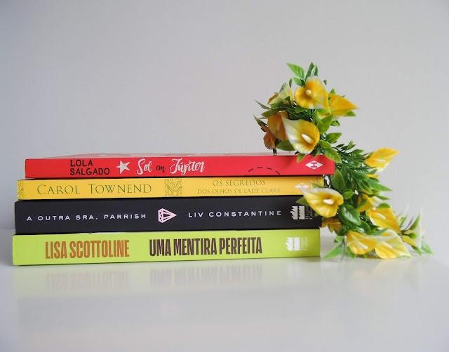 Book Haul - Abril