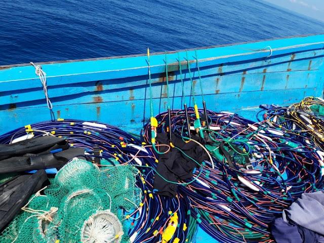 Quảng Ngãi: Bắt tàu cá dùng kích điện tận diệt tôm, cá ở khu bảo tồn