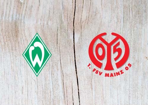 Werder Bremen vs Mainz - Highlights 30 March 2019