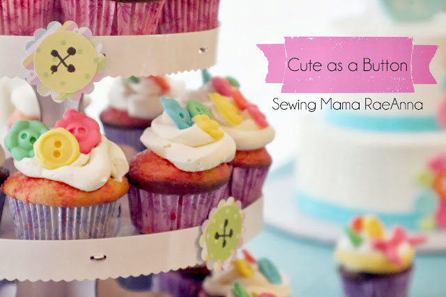 Cake Decorations Button