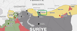 Large-Scale Attack on Kurds in Northern Syria