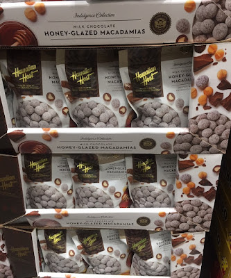Costco 1250587 - Get a taste of Hawaii with Hawaiian Host Milk Chocolate Honey-Glazed Macadamias