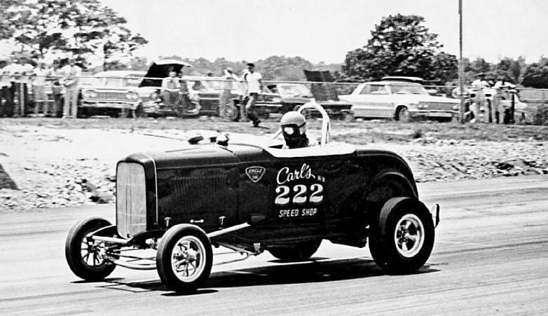 Just A Car Guy: the first fiberglass deuce roadster, made by