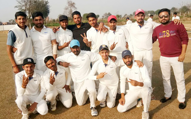 Vani XI defeated Lakhani Arman Cricket Club by 7 wickets