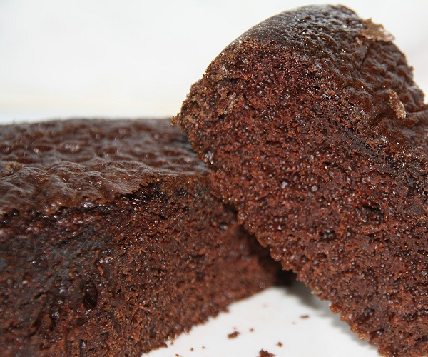 Imagem do bolo de chocolate low carb