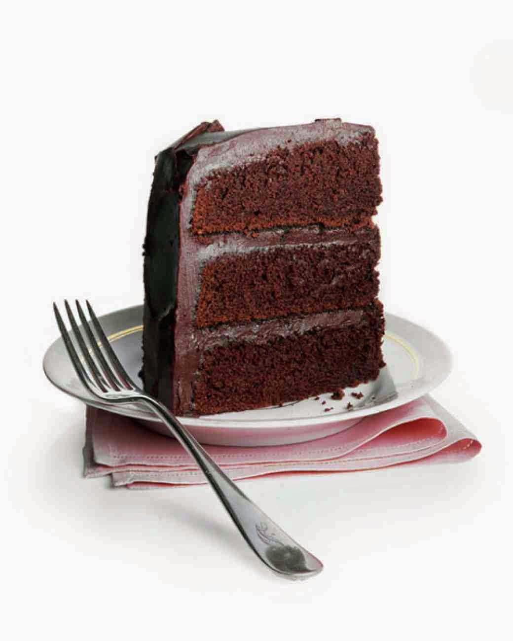 A receita d bolo de chocolate perfeito.
