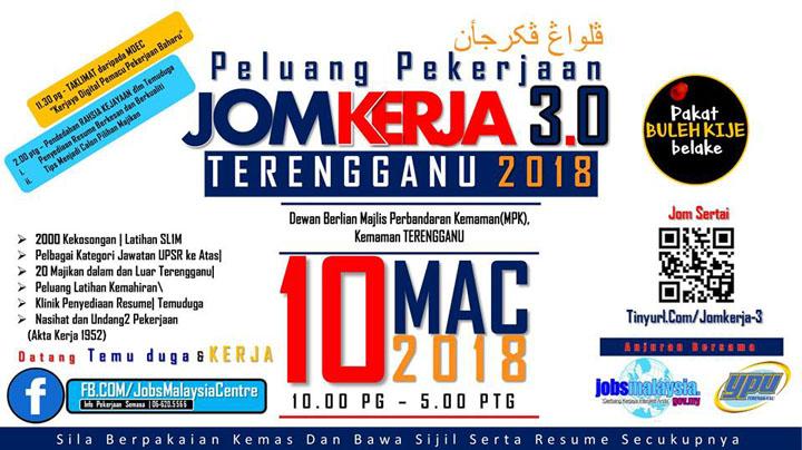 Program JomKerja 2018