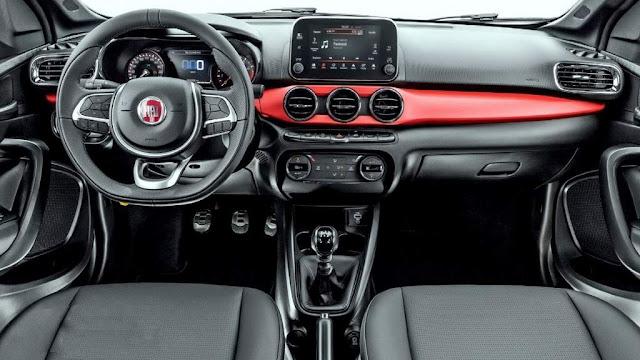 Fiat Argo 1.8 - interior