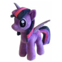 My Little Pony Twilight Sparkle Plush by Play by Play
