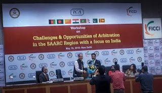 Workshop on Challenges and Opportunities of Arbitration in SAARC Region Held in New Delhi