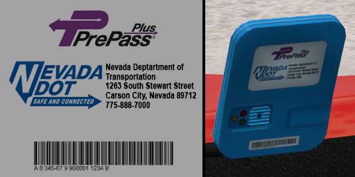 ats prepass transponder logos screenshots 4, Nevada PrePass