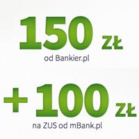 250 zł za mBiznes konto Standard w mBanku