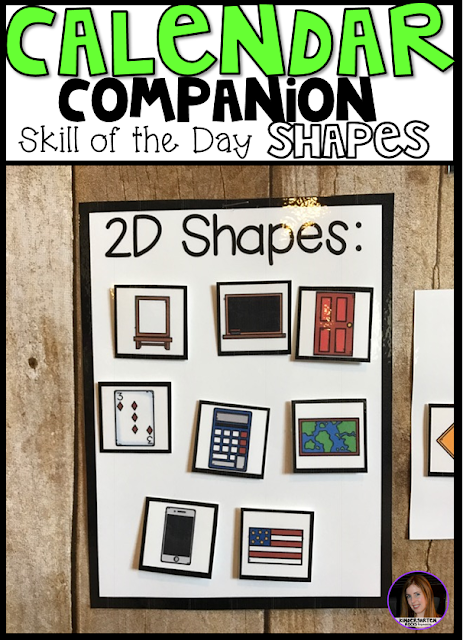 Shape of the Day Calendar Companion was designed to be a part of your daily morning meeting or carpet time for preschool and kindergarten leveled children. Shape of the day is a great introduction and/or review activity to learn about shapes. As the year progresses the children will learn more about shapes, like the number of sides, corners, shapes in our environment and how to draw shapes. Shapes included in this unit: circle, square, rectangle, oval, triangle, heart, star, diamond (and rhombus), trapezoid, pentagon, hexagon, octagon.