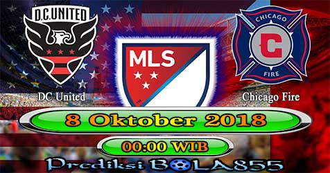 Prediksi Bola855 DC United vs Chicago Fire 8 Oktober 2018