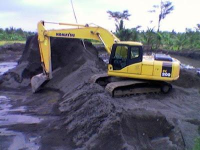 harga pasir bangunan jual 1 truk