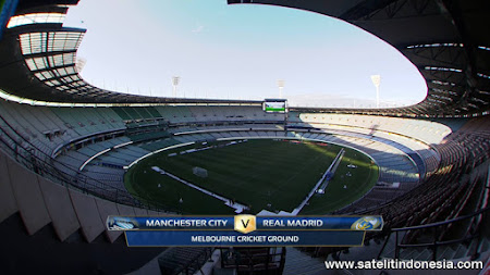 siaran langsung Real Madrid vs Manchester City di tv