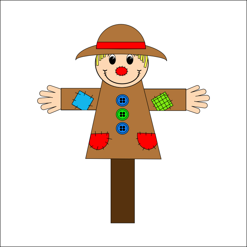 Smarty Pants Fun Printables Scarecrow Acitity And