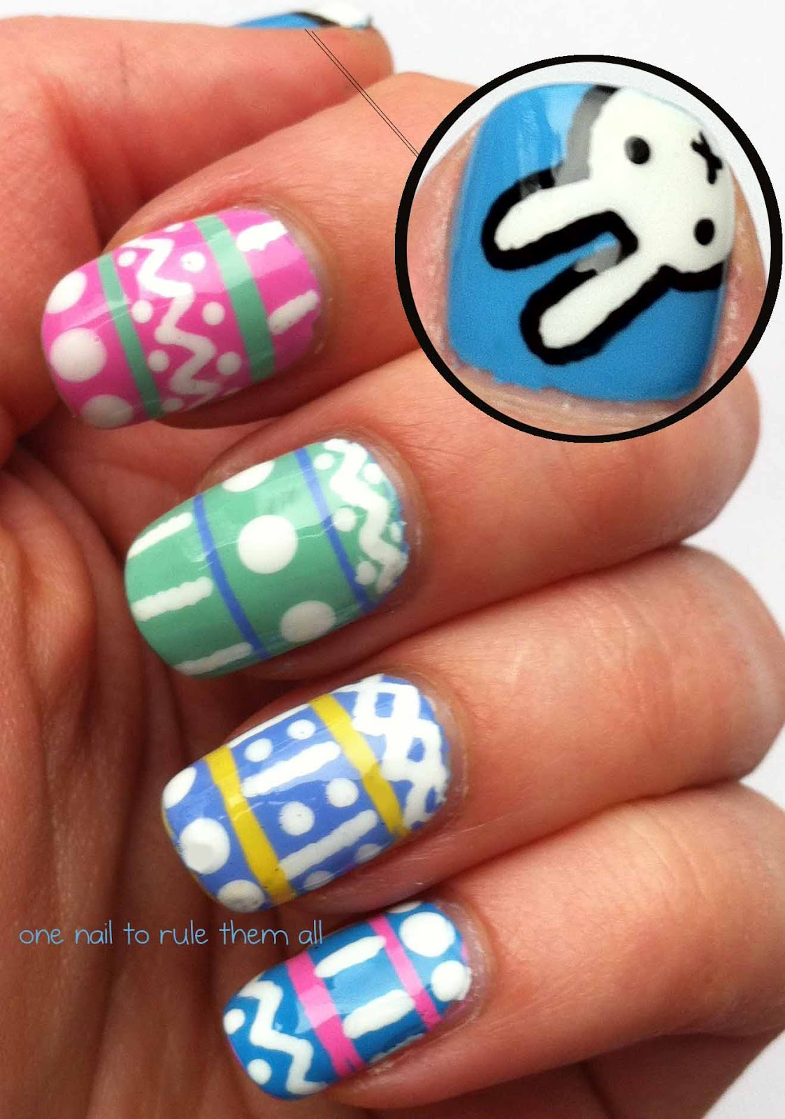 One Nail To Rule Them All: Easter Nails