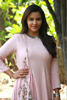 Priya Anand in simply Pink at an interview for movie KOOTATHIL ORUTHAN~  Exclusive celebrities galleries 013.jpg