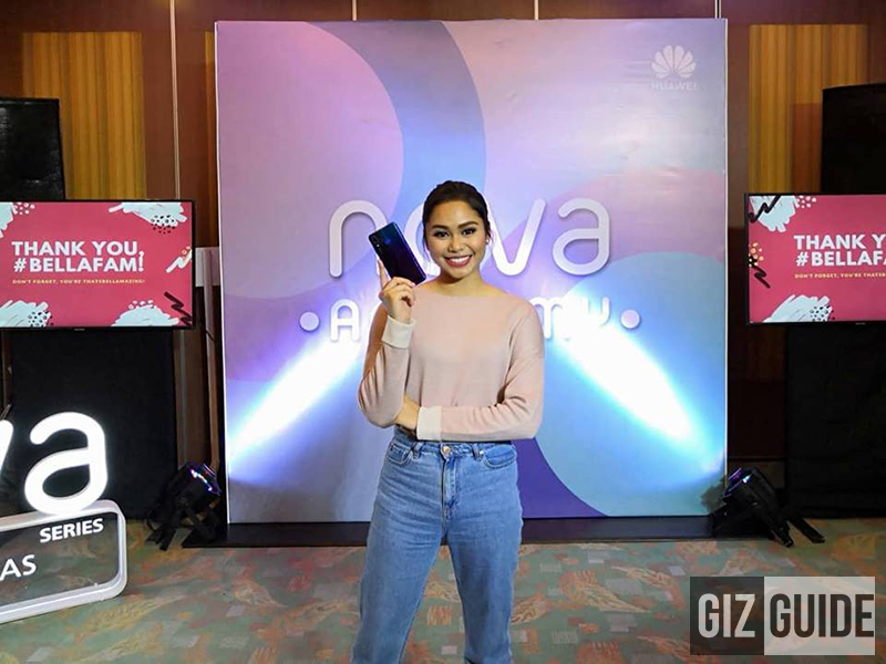 Vlogging class with YouTuber #ThatsBella at the Huawei Nova Academy