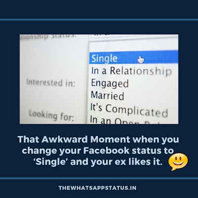 Awkward Status for Whatsapp