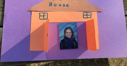 Open the Door! Make a Simple House Craft--printable directions, sequencing, communication board