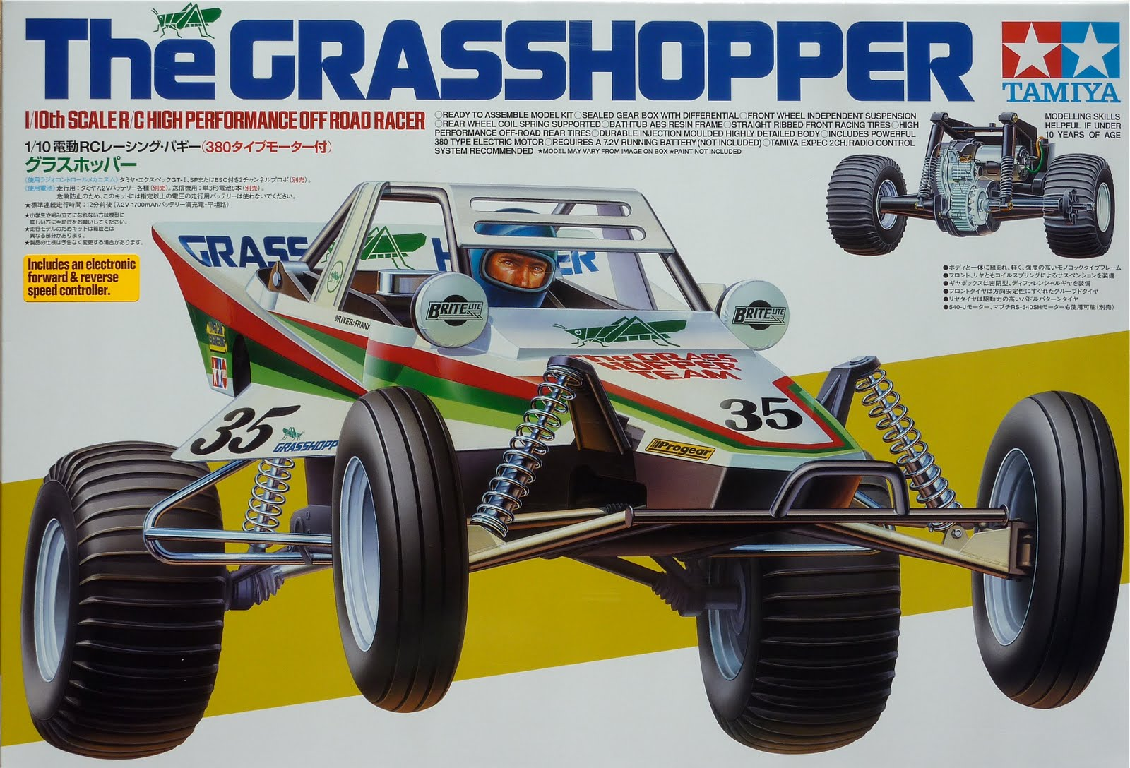 Tamiya 8039s Buggy History And Box Art The Rc Racer