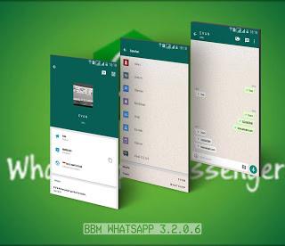 BBM MOD WhatsApp APK v3.2.0.6 Terbaru (Tampilan Jos)