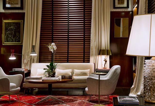 cortina transparente, blog Achados de Decoração