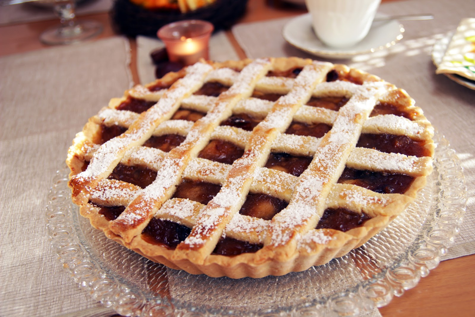 Piepmatz Rezept Apfel Tarte Mit Gitter