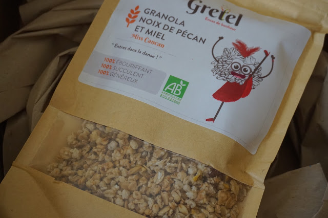 gretel_box_encas_de_bonheur_revue_avis_granola_noix_de_pécan_et_miel