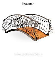Металлоконструкция - Мостики г. Городец ул. Дорожная 8а тел: +7 910 874 58 82